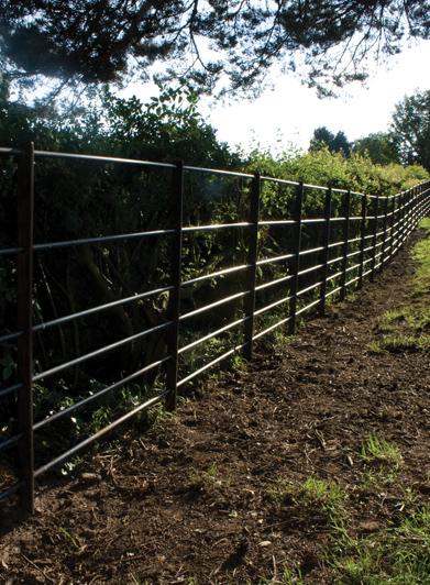 6 Bar Fence